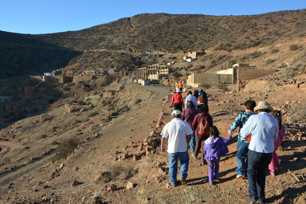 Comienzan los recorridos patrimoniales que organiza el separtamento de Cultura de Vallenar