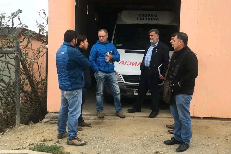 Concejo municipal de Freirina sesiona en Carrizalillo y visita posta rural