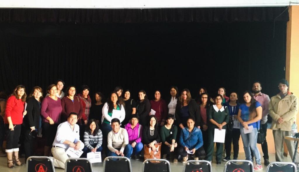 Centros de Padres participaron del proceso de difusión del Comité Directivo de los Servicios Locales de Educación Pública de Huasco