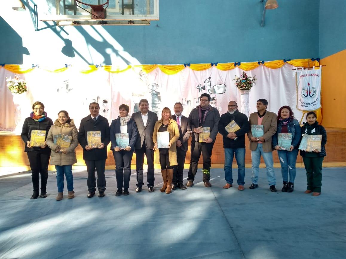 Escuela de Deportes de Vallenar lanza dos textos educativos