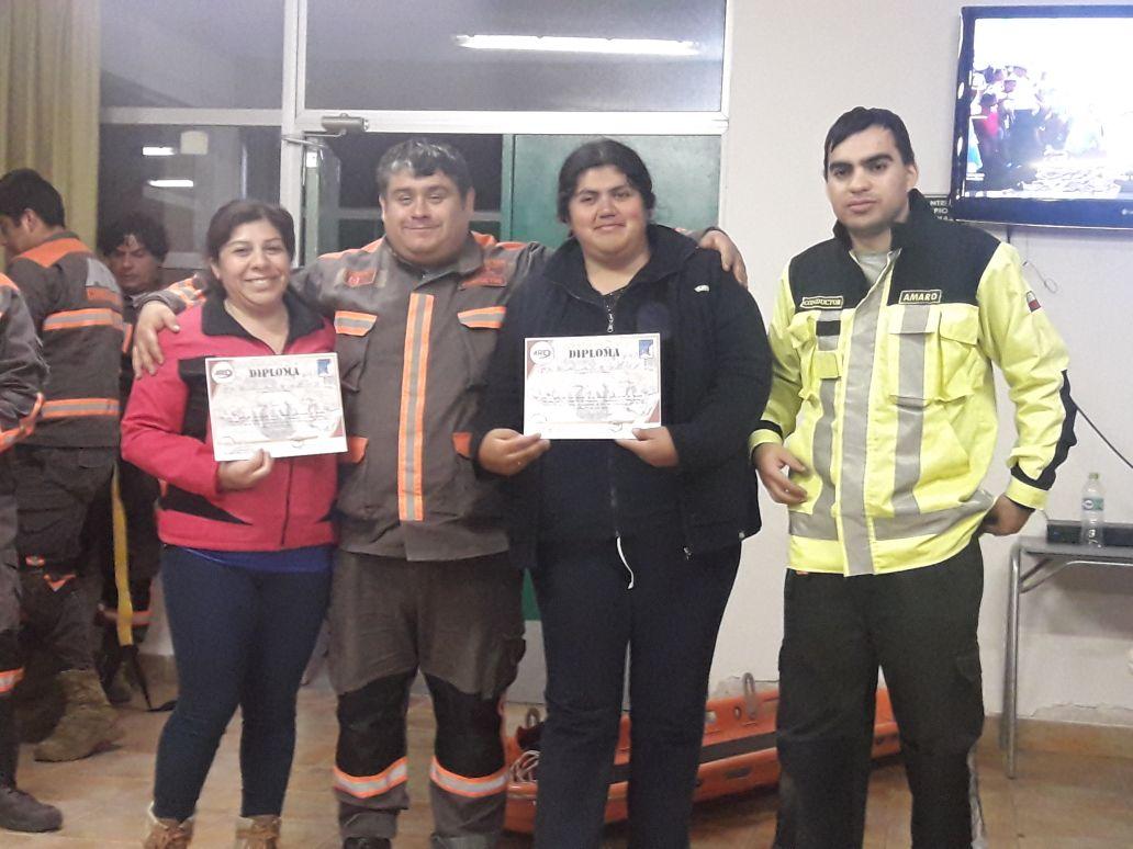 Comunidad de Alto del Carmen se capacita en manejo de emergencias