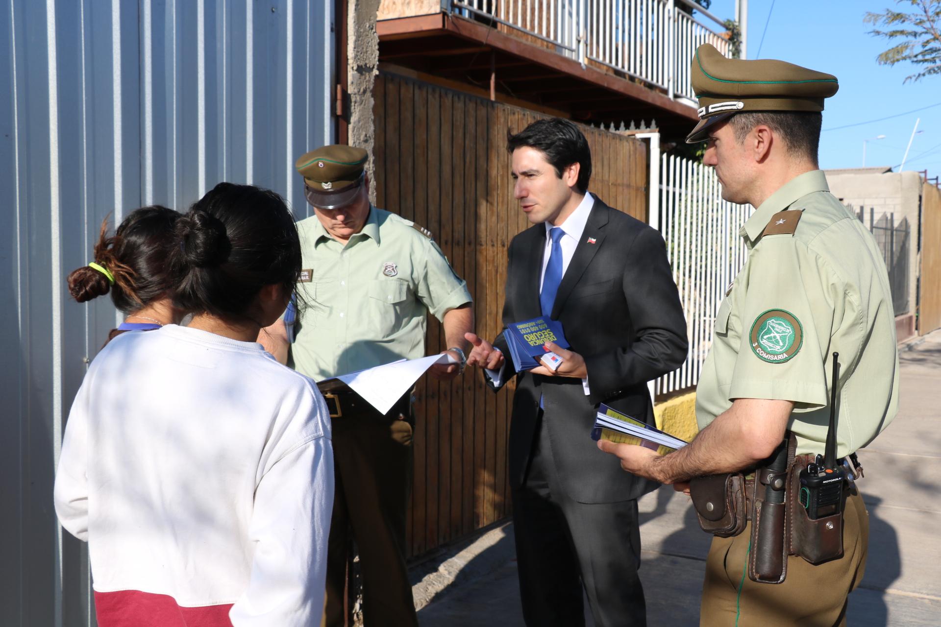 Vecinos destacan y agradecen rondas en materia de seguridad pública