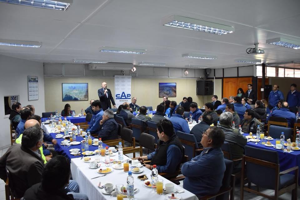 Ministro de Minería visita Planta de Pellets y destaca el compromiso histórico de CAP Minería con el Valle del Huasco