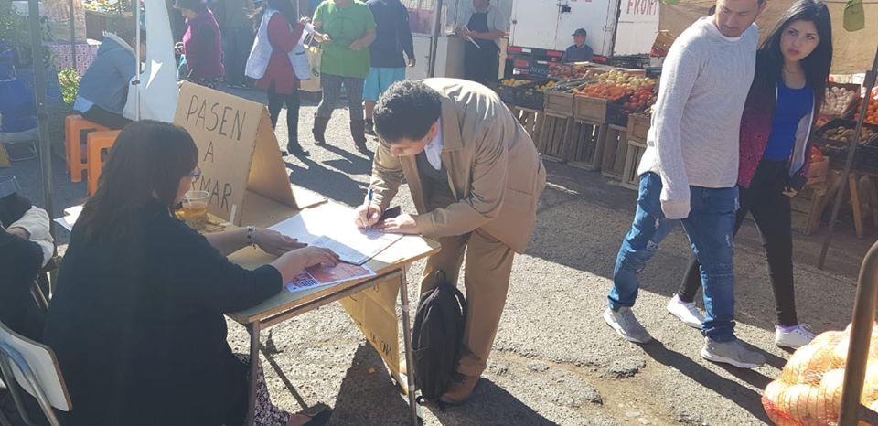 Consejero regional de Vallenar apoya junta de firmas de vecinos de Baquedano por mantener retén en población