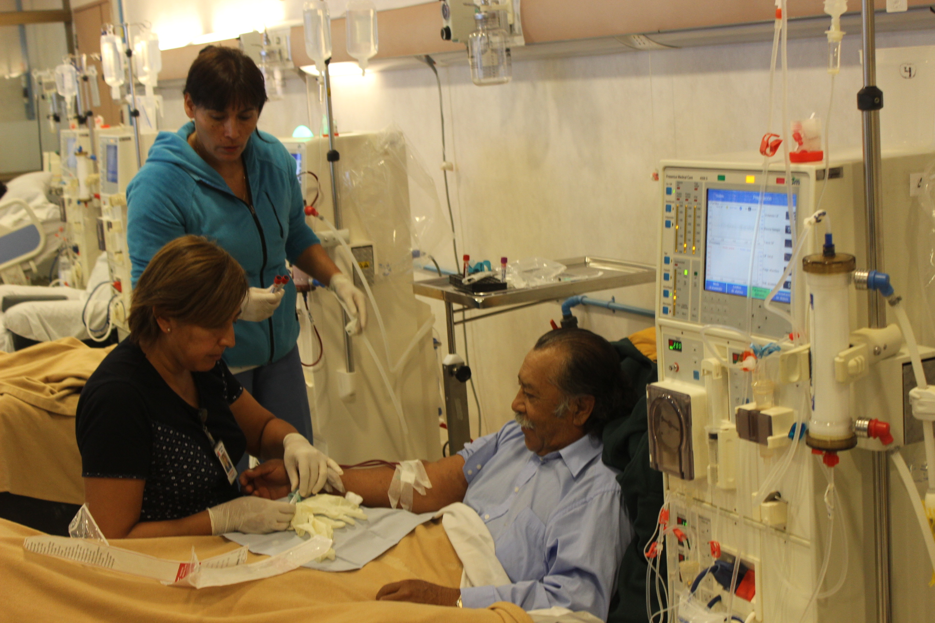 Servicio de Salud de Atacama continúa con sus trabajos de remodelación en sus plantas de diálisis de Copiapó y Vallenar
