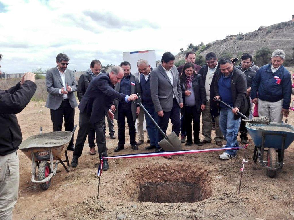 MINVU coloca primera piedra de proyecto habitacional Chacra Martínez en Vallenar