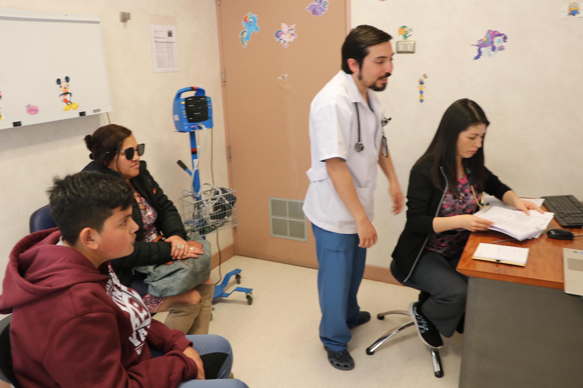 Hospital Provincial del Huasco realiza primeras atenciones de Telemedicina Pediátrica