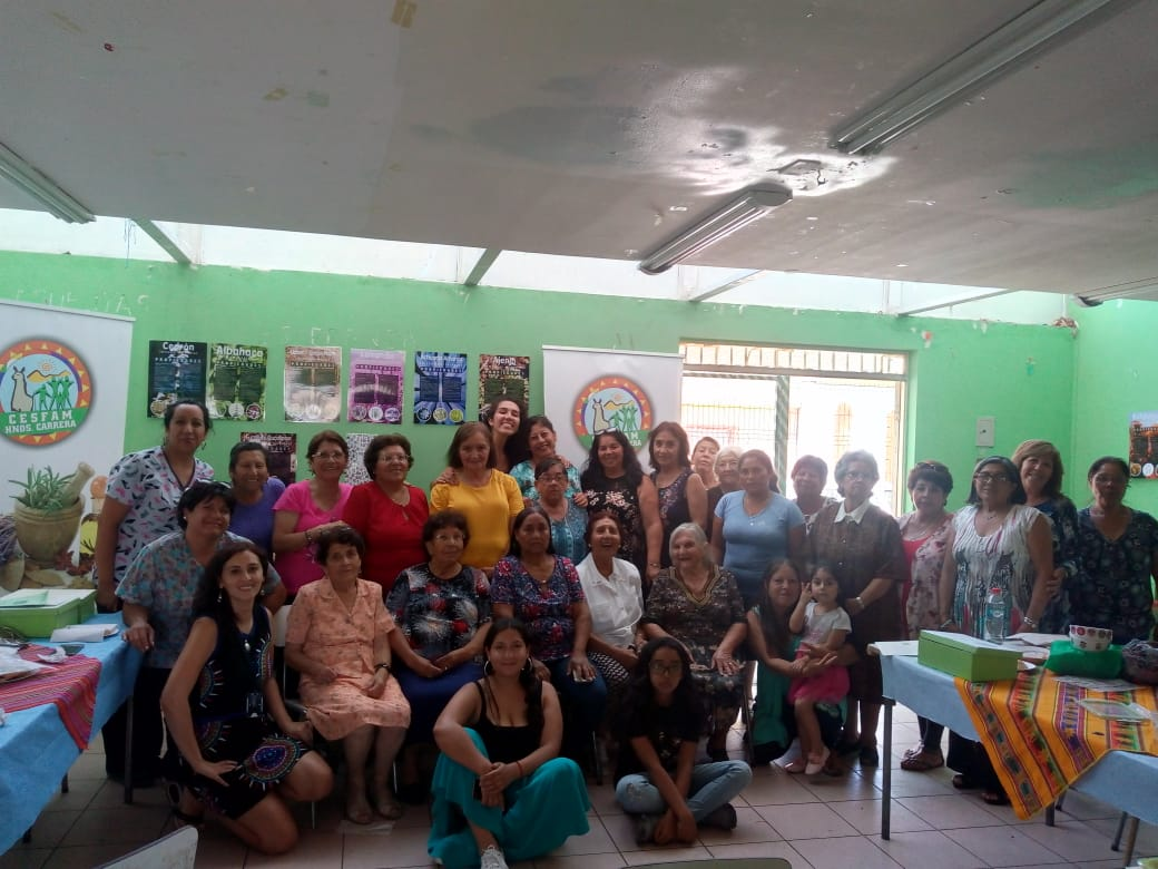 Cesfam Carrera finaliza proyecto de Medicina Natural para vecinos