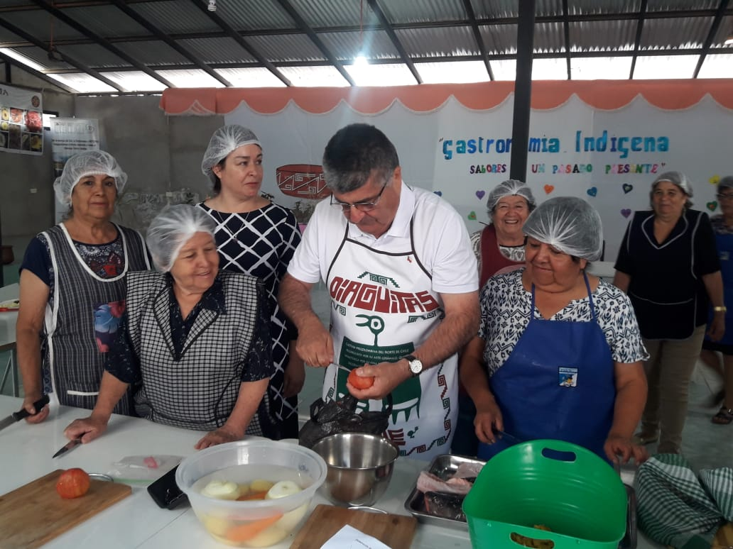 Comunidades  Diaguitas  ejecutarán proyecto de 15 millones para  rescatar  gastronomía  a través del programa Elige Vivir Sano