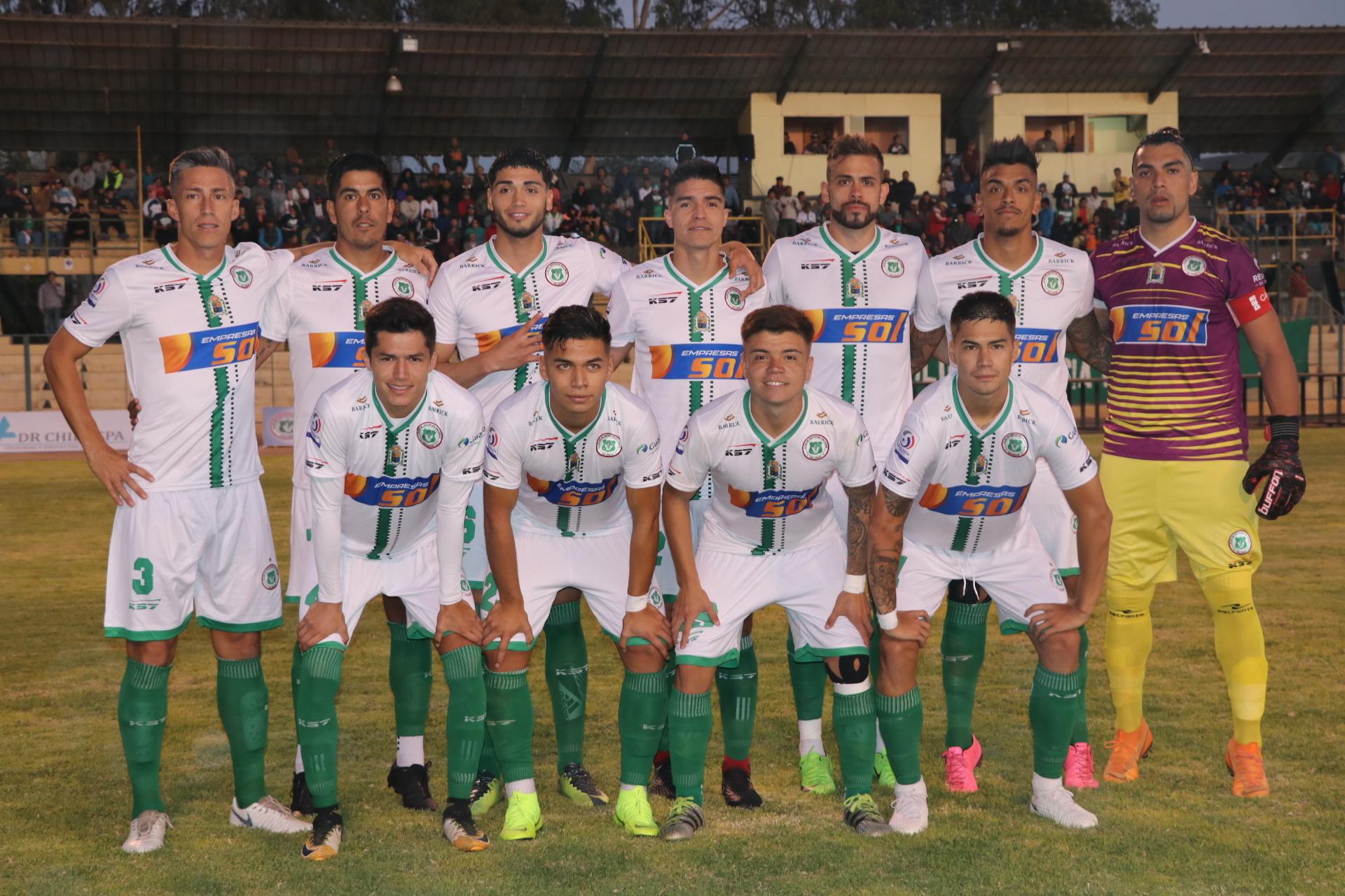 Deportes Vallenar presenta su plantel 2019 y ya prepara su partido frente a Deportes Copiapó por Copa Chile