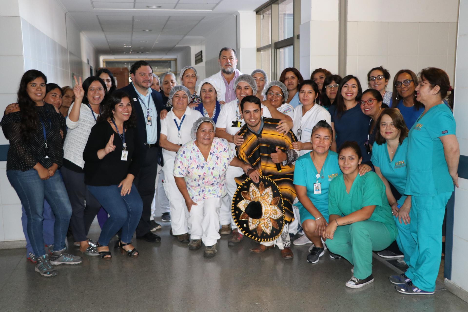 Hospital Provincial del Huasco conmemoró día de la mujer con un charro mexicano