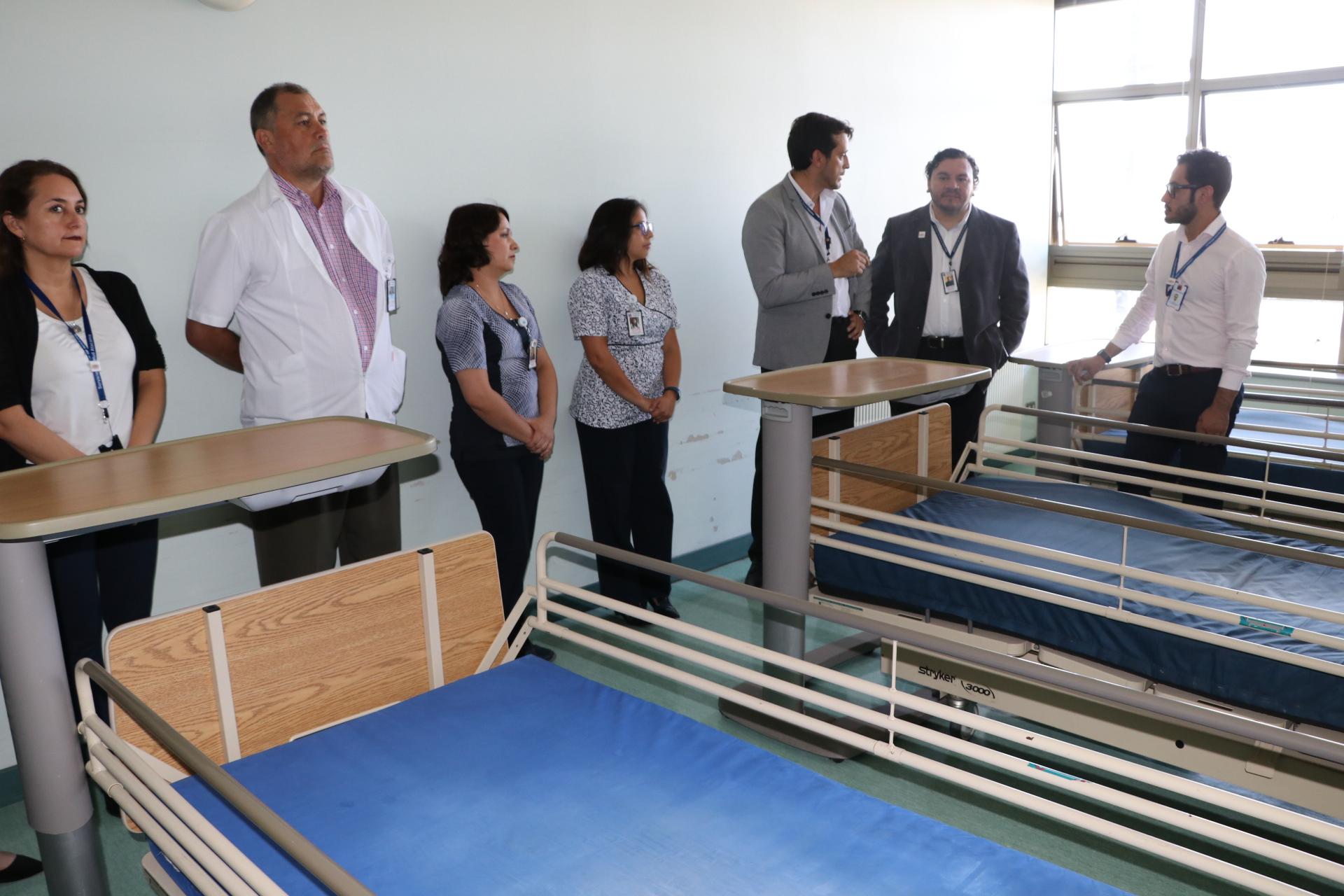 En visita al HPH autoridades de salud buscan gestionar anhelada apertura de camas de hospitalización