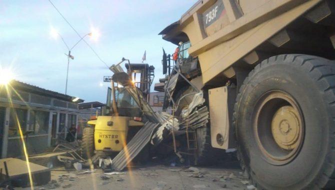 Grave accidente en mina Los Colorados