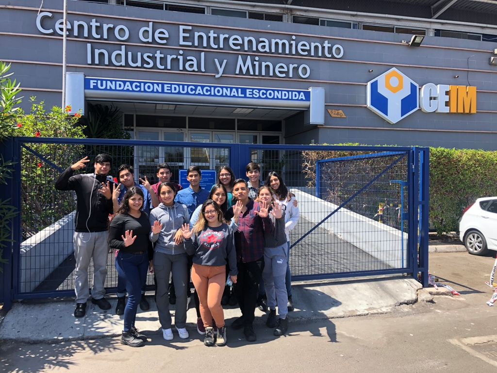 Jóvenes del Valle del Huasco inician beca en la Escuela de Oficio del CEIM en Antofagasta