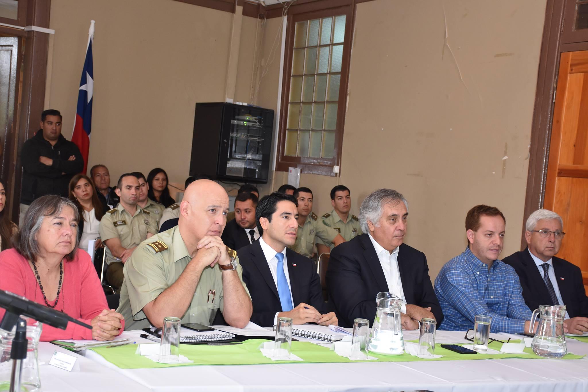 Nueva sesión STOP se realizó en la Provincia de Huasco