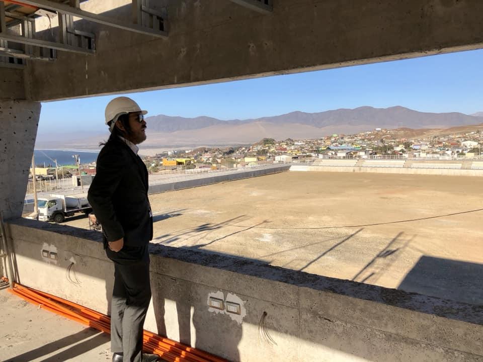 Municipio de Huasco pone término anticipado a contrato de ejecución de estadio municipal
