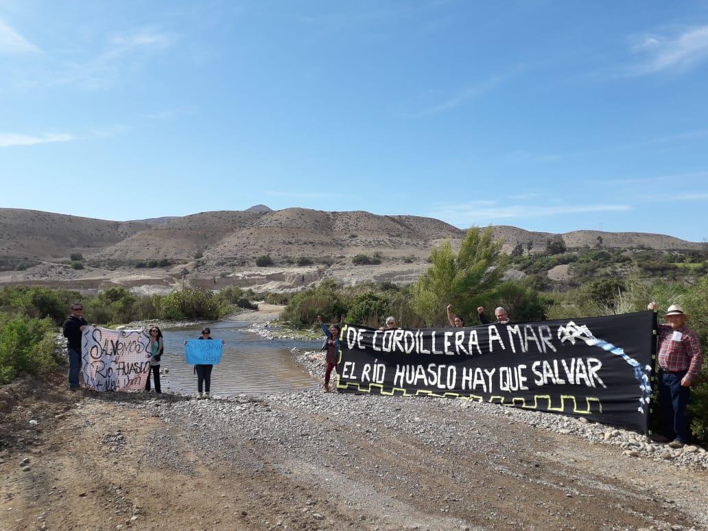 Movimiento Río Huasco preocupado por inicio de sondajes en río por proyecto NuevaUnión