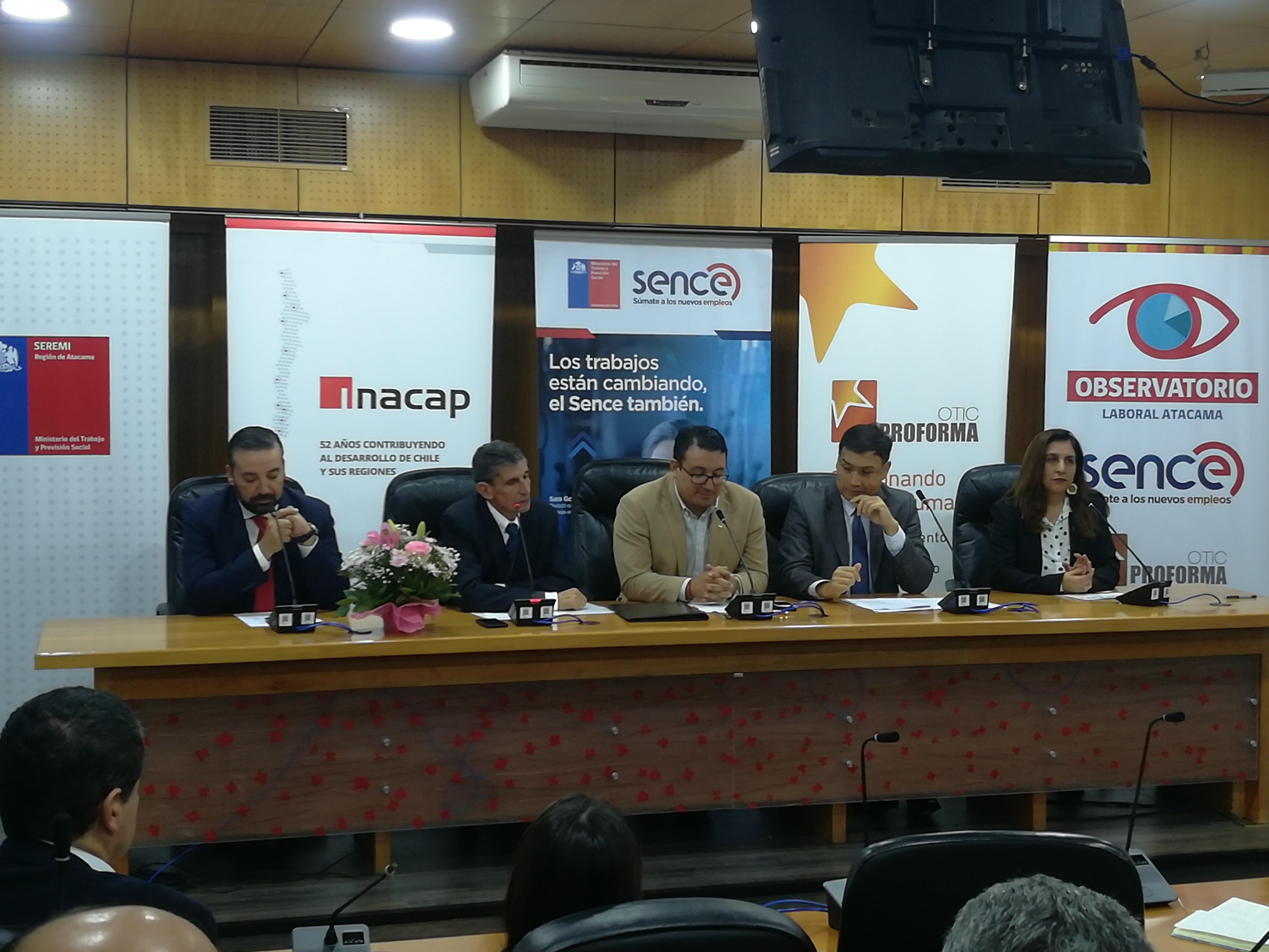 Observatorio Laboral Regional aplicará la Primera Encuesta Nacional de Demandas Laborales en Atacama