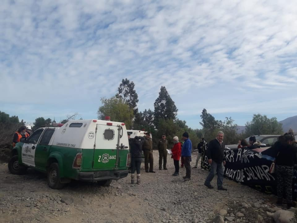 """NuevaUnión responde ante denuncia de """"ilegalidad"""" sobre sondajes en río"""