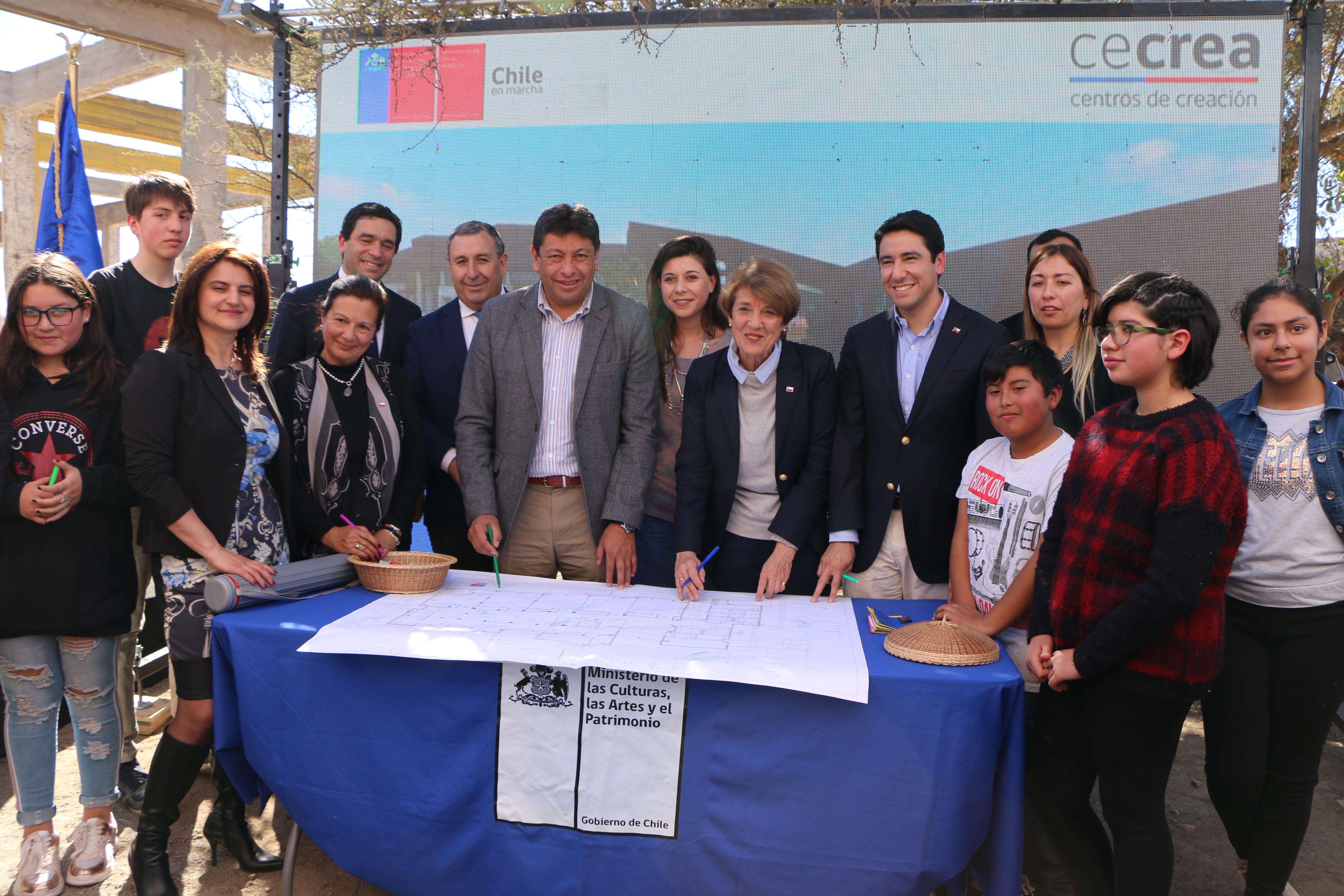En 14 meses más entregarán centro Cecrea en Vallenar