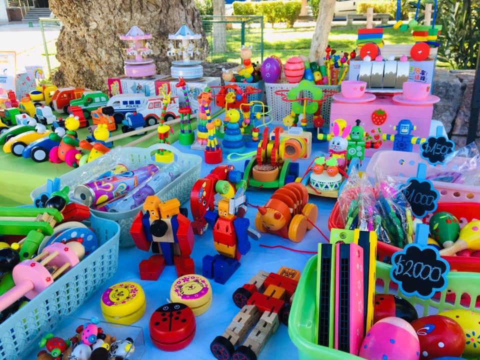 BenjaKin emprendimiento de juguetes de madera en Vallenar