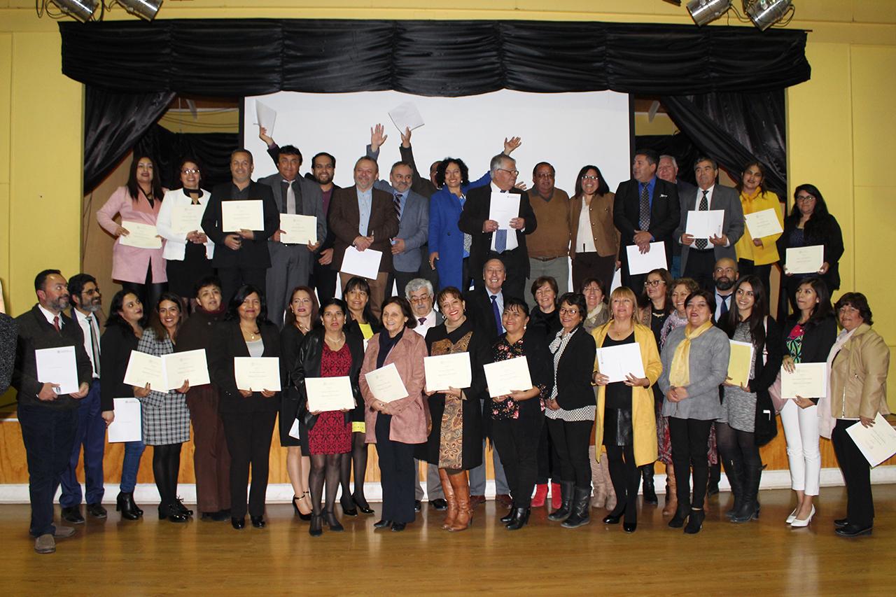 Educación Pública cuenta con 65 nuevos líderes educativos para el territorio Huasco
