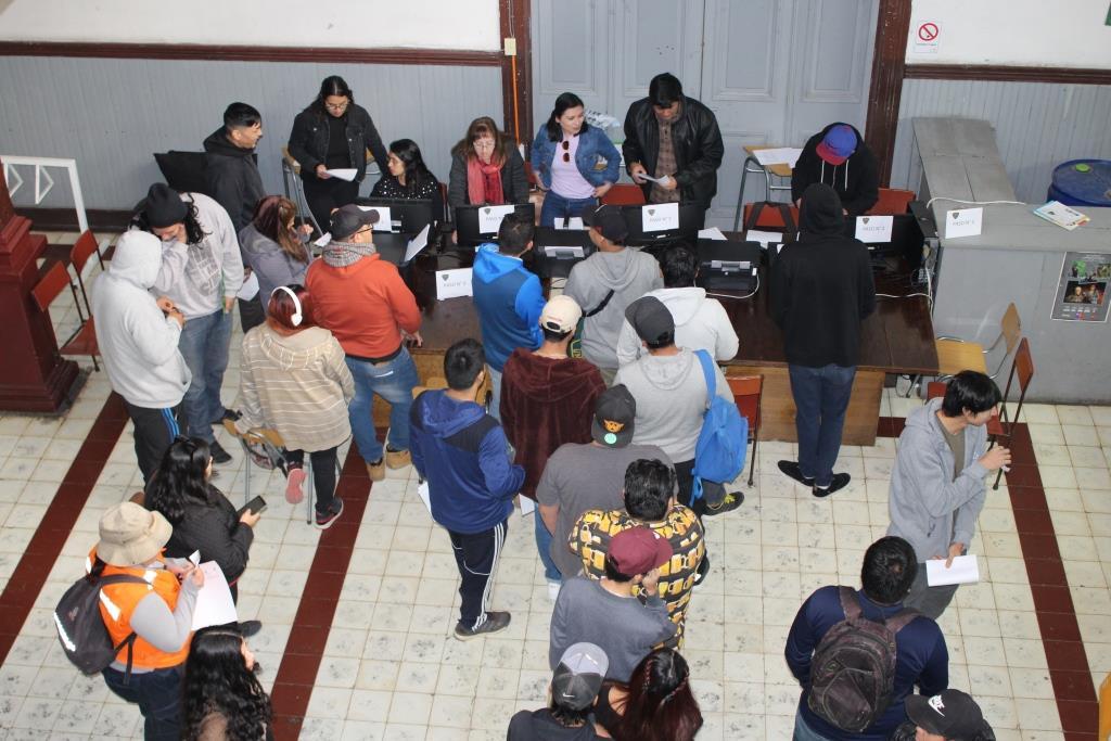 Sede Vallenar inició su proceso de matrículas del segundo semestre