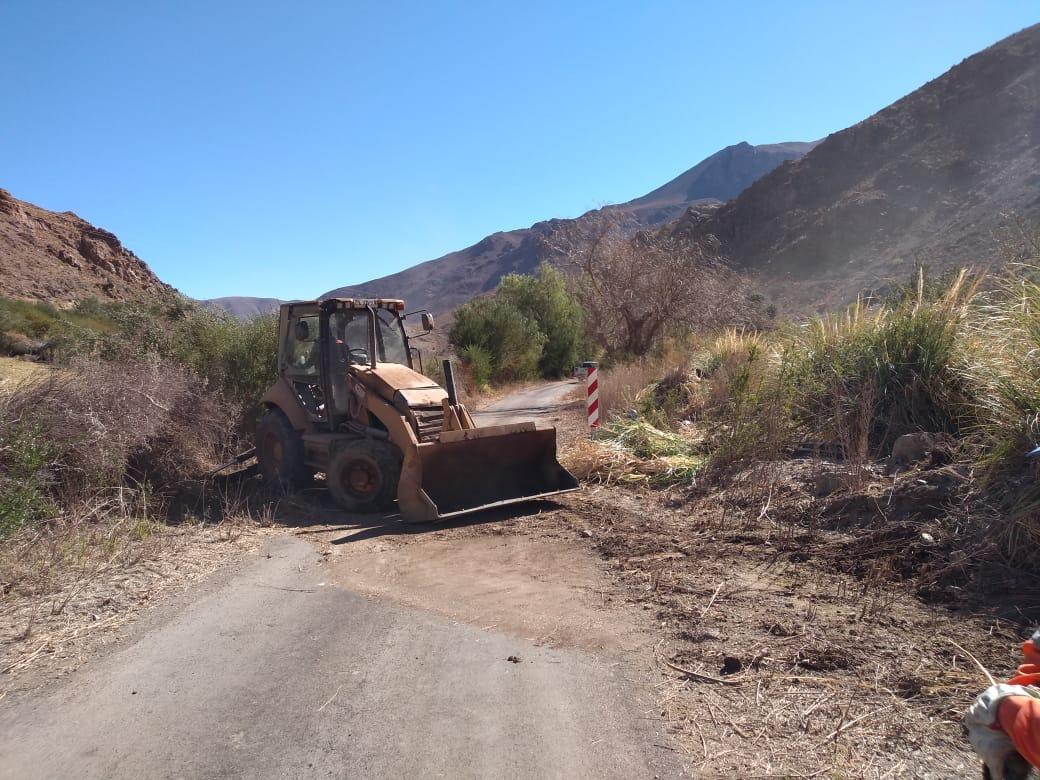 Mejoran accesos a localidad de El Corral en Alto del Carmen