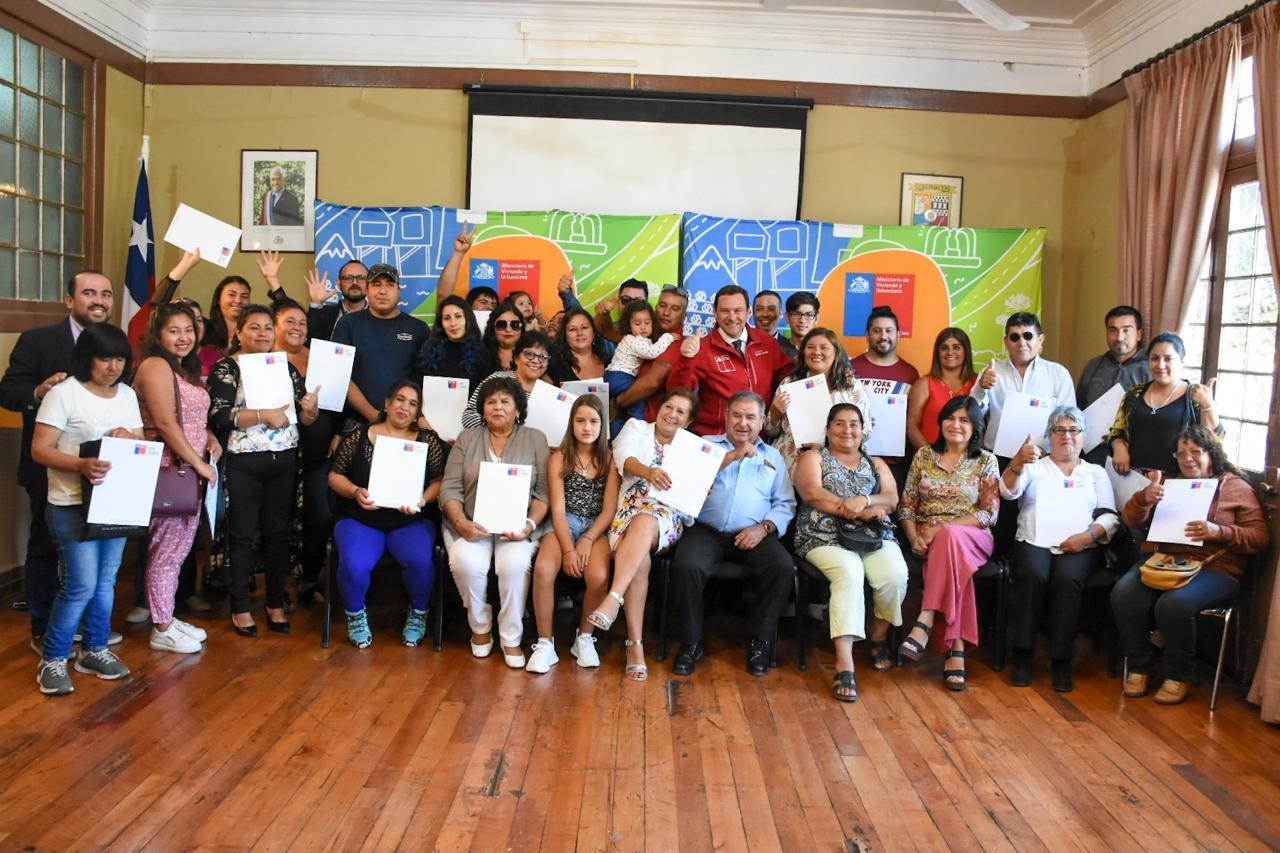 MINVU entrega 42 subsidios habitacionales a familias de la provincia del Huasco