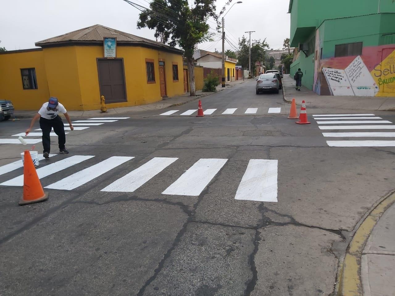Dirección de Tránsito de Vallenar  vela por la seguridad peatonal