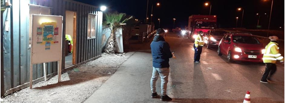 En 7 días fueron controladas más de 1600 personas durante toque de queda en Vallenar