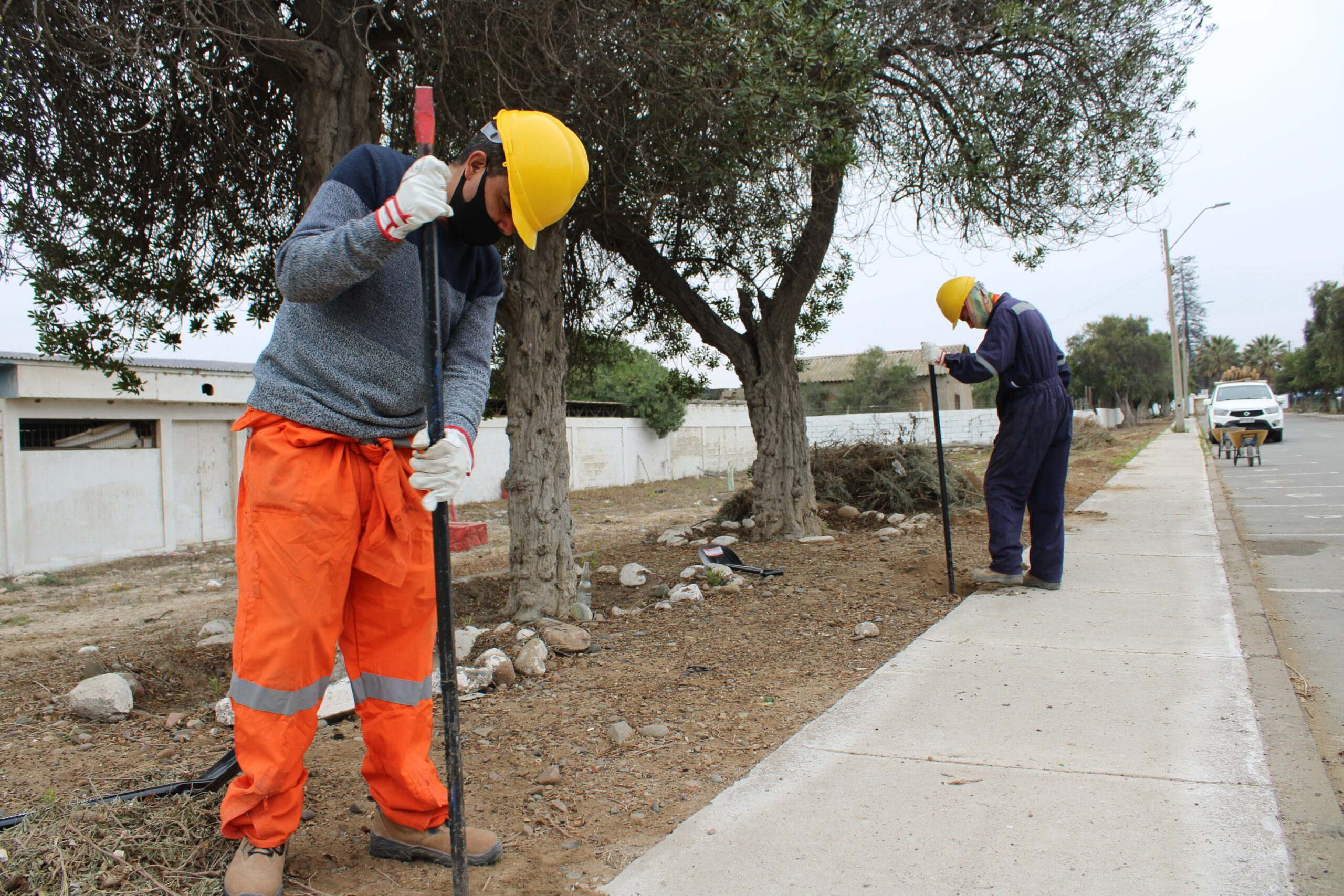 Dan el vamos a obras de mejoramiento de espacios públicos en Freirina