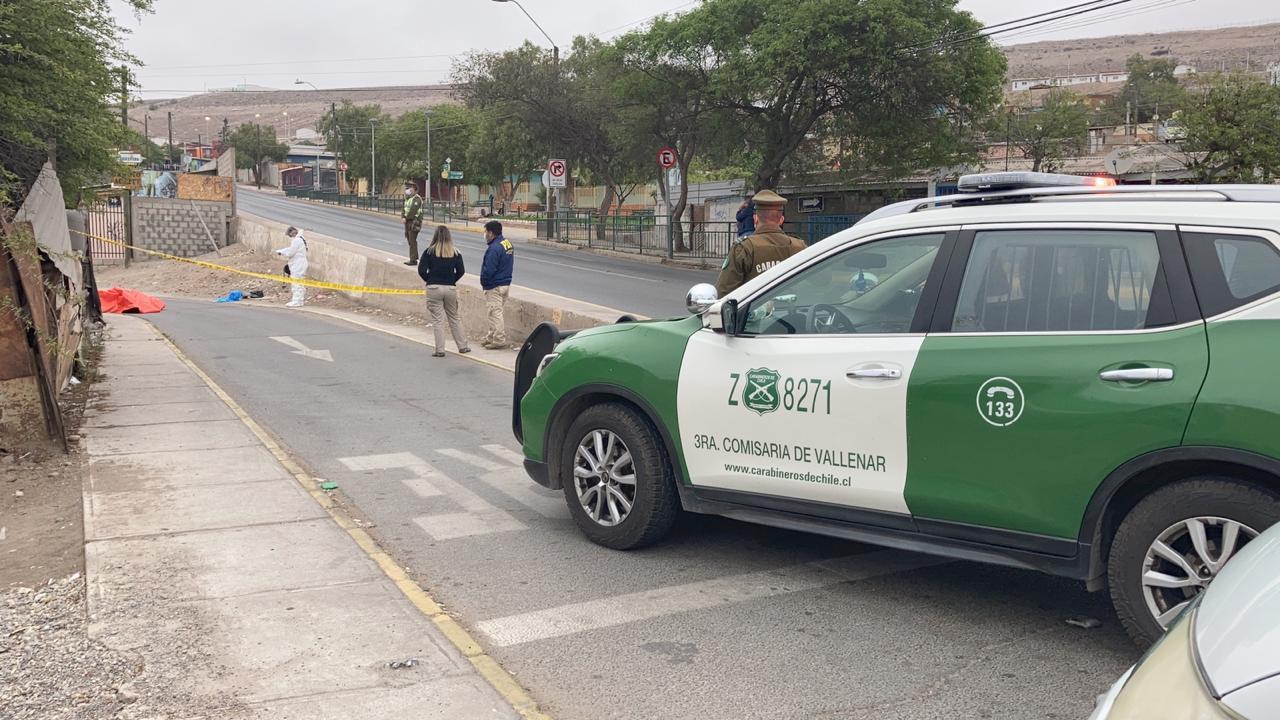 Fiscalía instruye diligencias por homicidio  ocurrido esta madrugada en Vallenar
