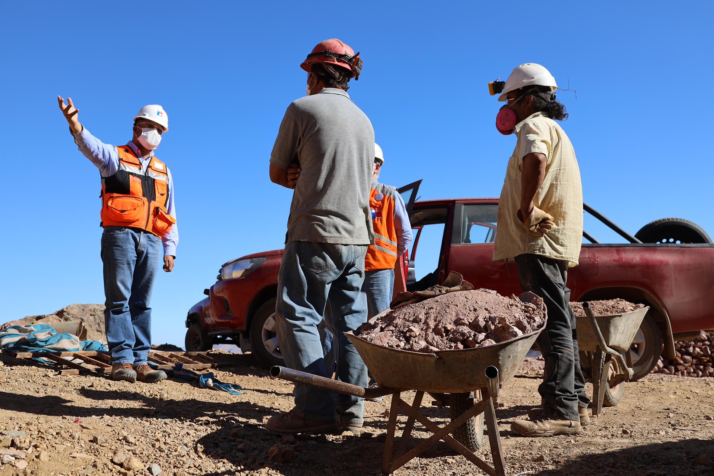 Consejeros plantean crear estrategias para apoyar  a pequeños mineros de la Provincia de Huasco