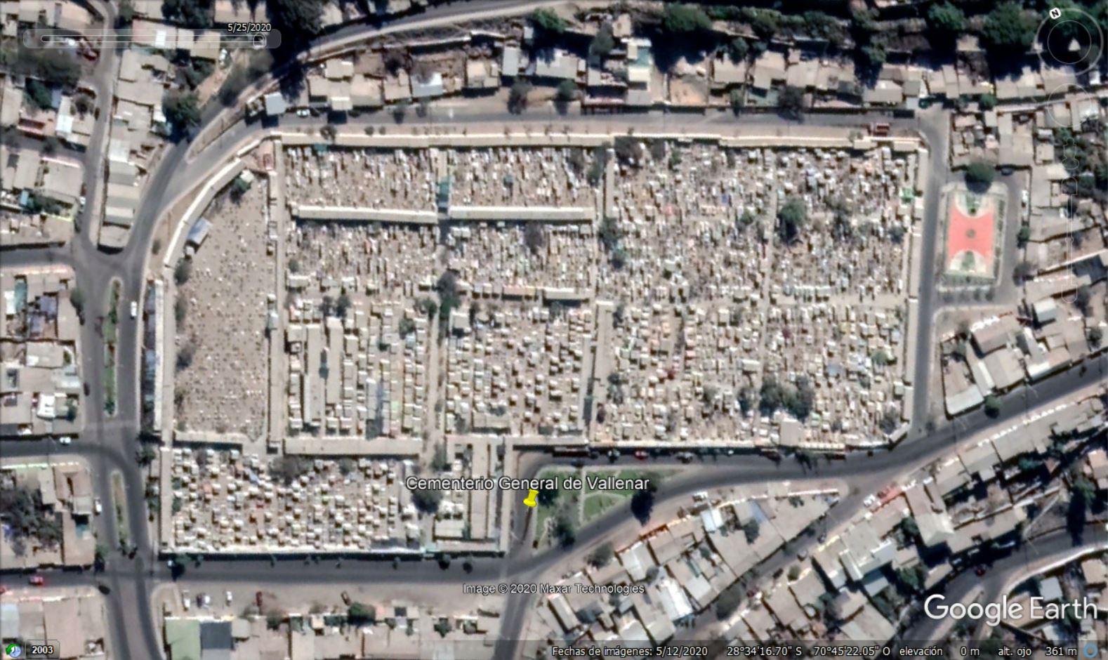 Arquitecto dice que cementerio de Vallenar está saturado hace más de 25 años