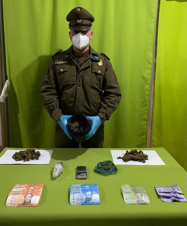 Dos imputados por tráfico de drogas en Freirina y Vallenar