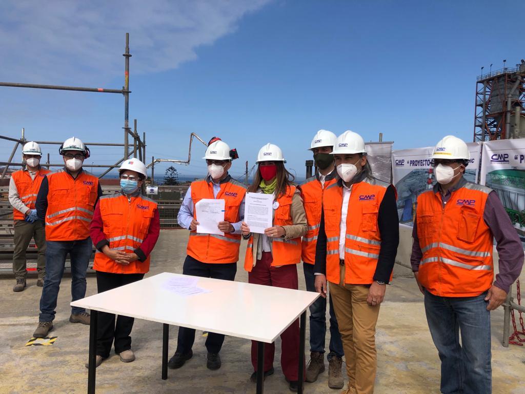 CMP y Ministerio del Medio Ambiente firman convenio de monitoreo de calidad del aire en Huasco