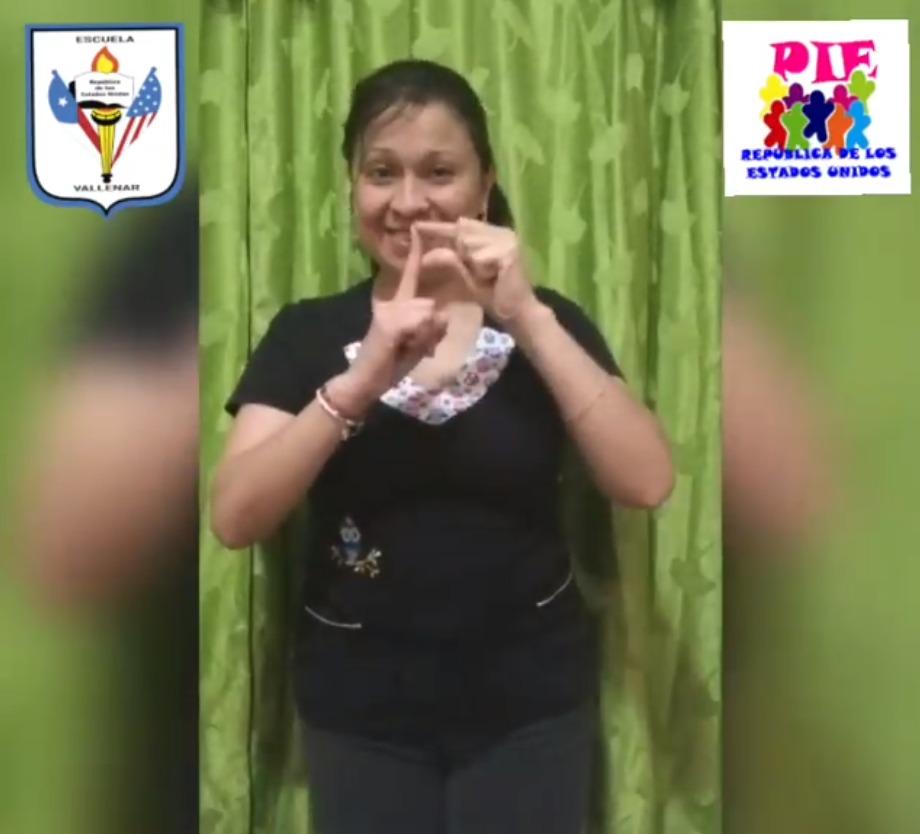 """""""Lengua de Señas para todos y todas"""", es el nombre de iniciativa pedagógica digital liderada por escuela de Vallenar"""