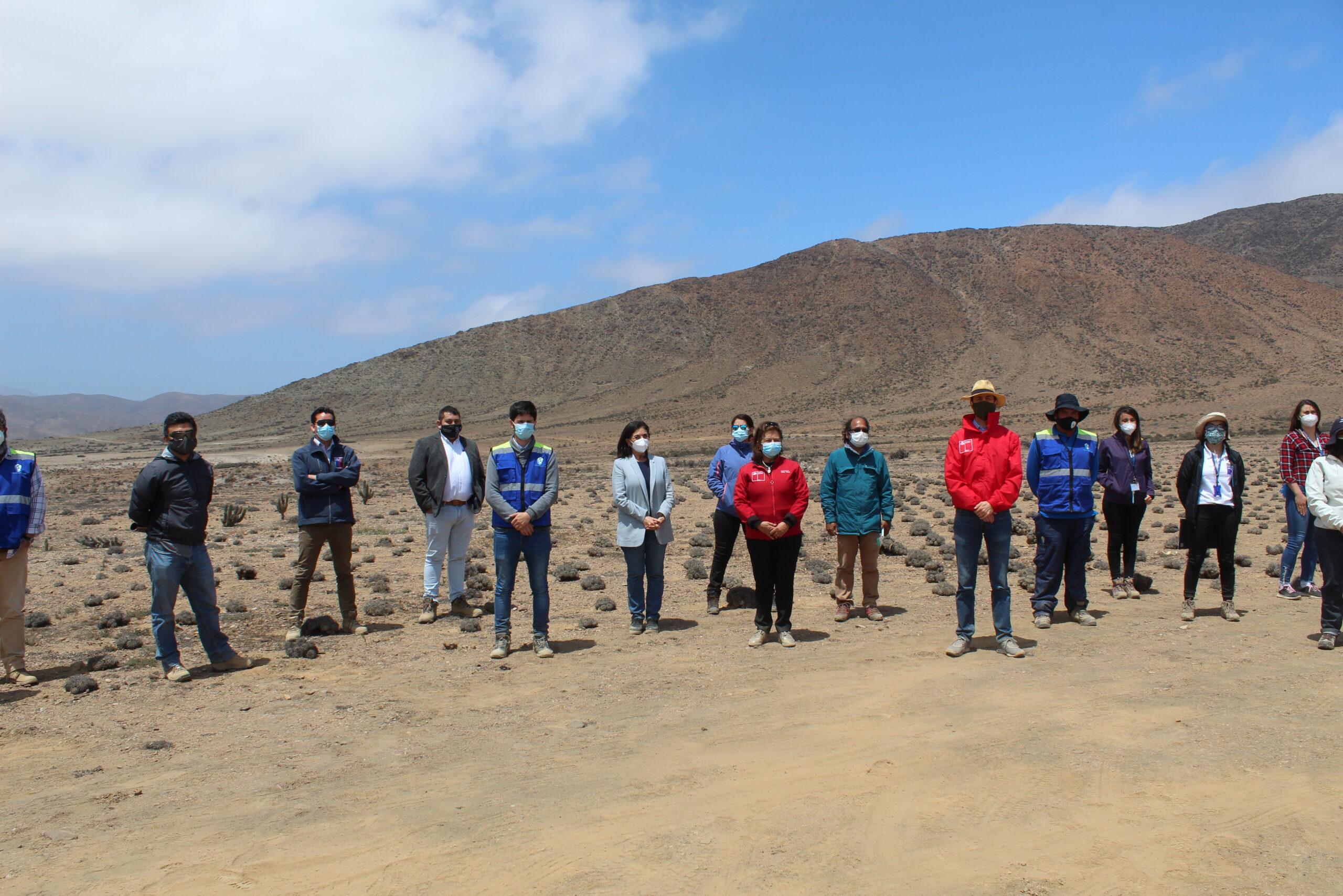 Autoridades regionales supervisan avances del proyecto de cierre del ex Vertedero de Huasco