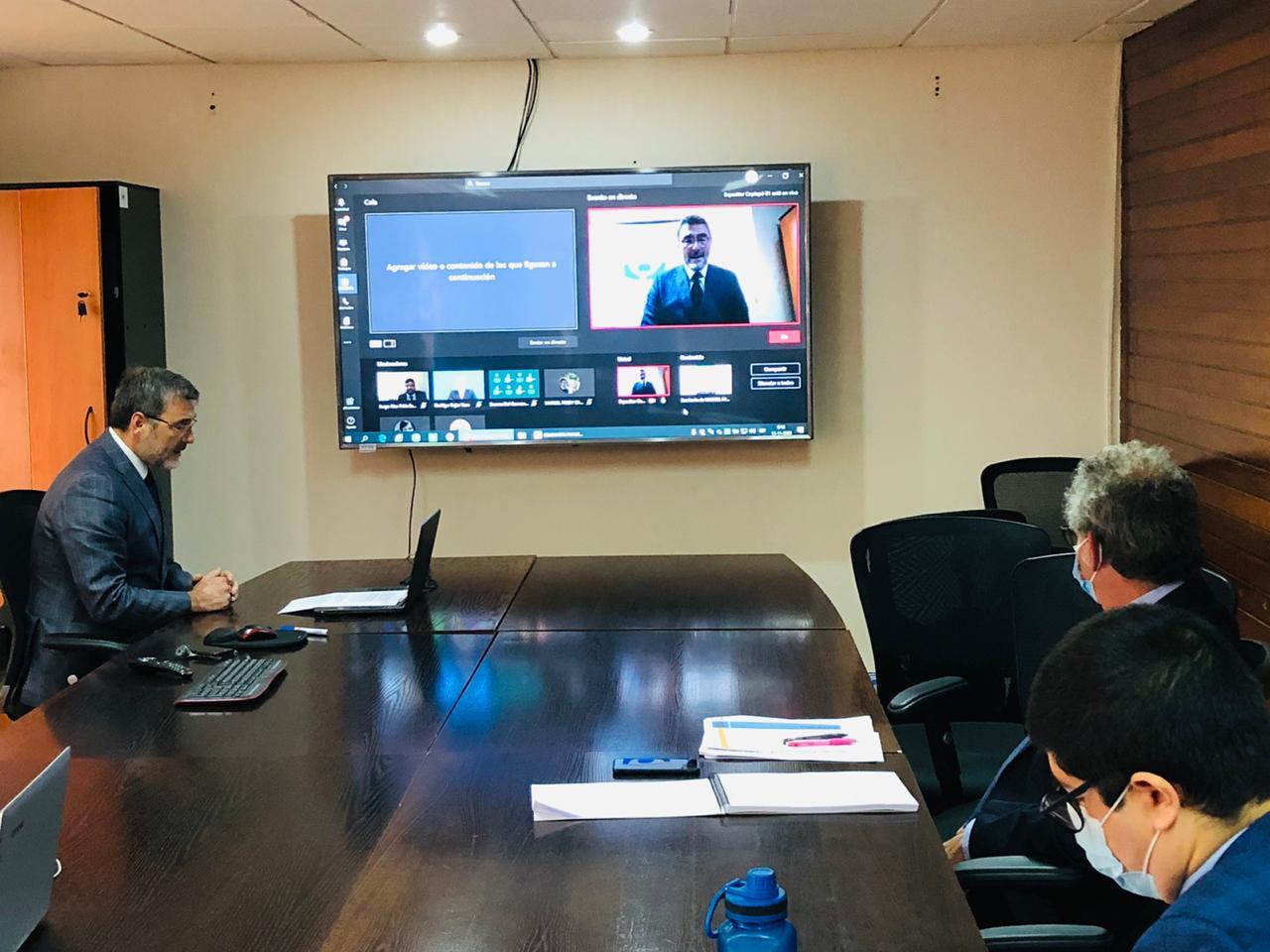 Fiscalía tomó parte de seminario virtual para explicar alcances de Ley de Entrevista Videograbada