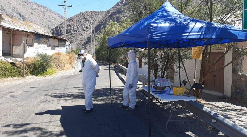 Finalizan controles voluntarios sanitarios en accesos a Huasco y Alto del Carmen