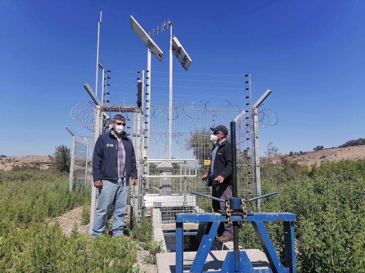 JVRH impulsa programa de instalación de compuertas computarizadas en canales del río Huasco