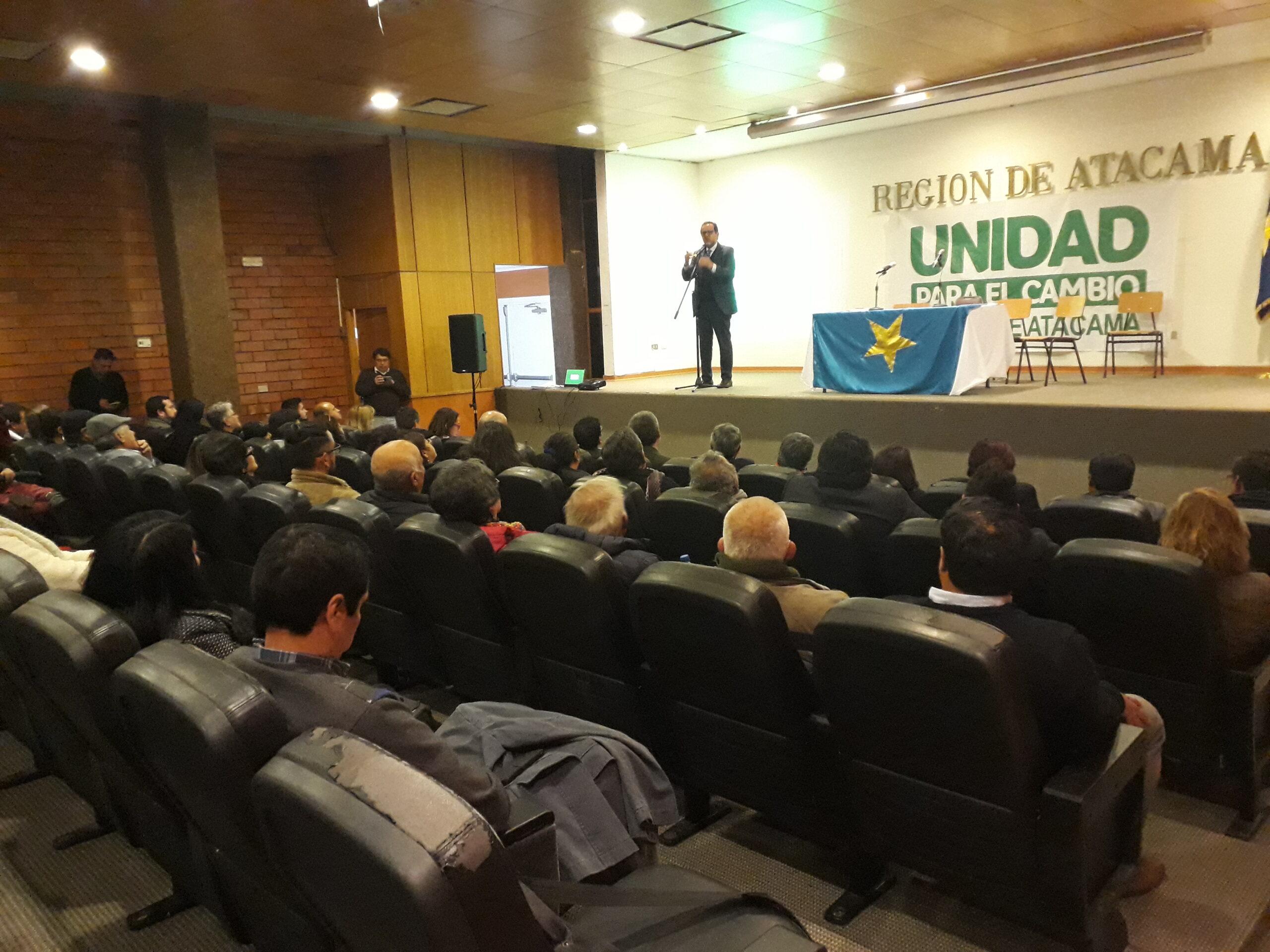 Coalición Unidad para el Cambio de Atacama llama al resto de la oposición a realizar Primarias Convencionales para la elección de Gobernadores Regionales