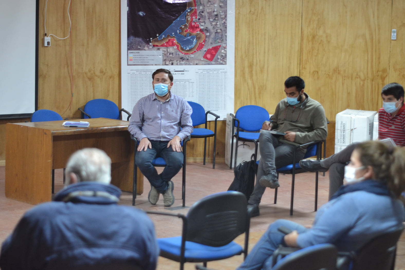 Planifican acciones sanitarias para prevenir covid en temporada de verano en Chañaral de Aceituno