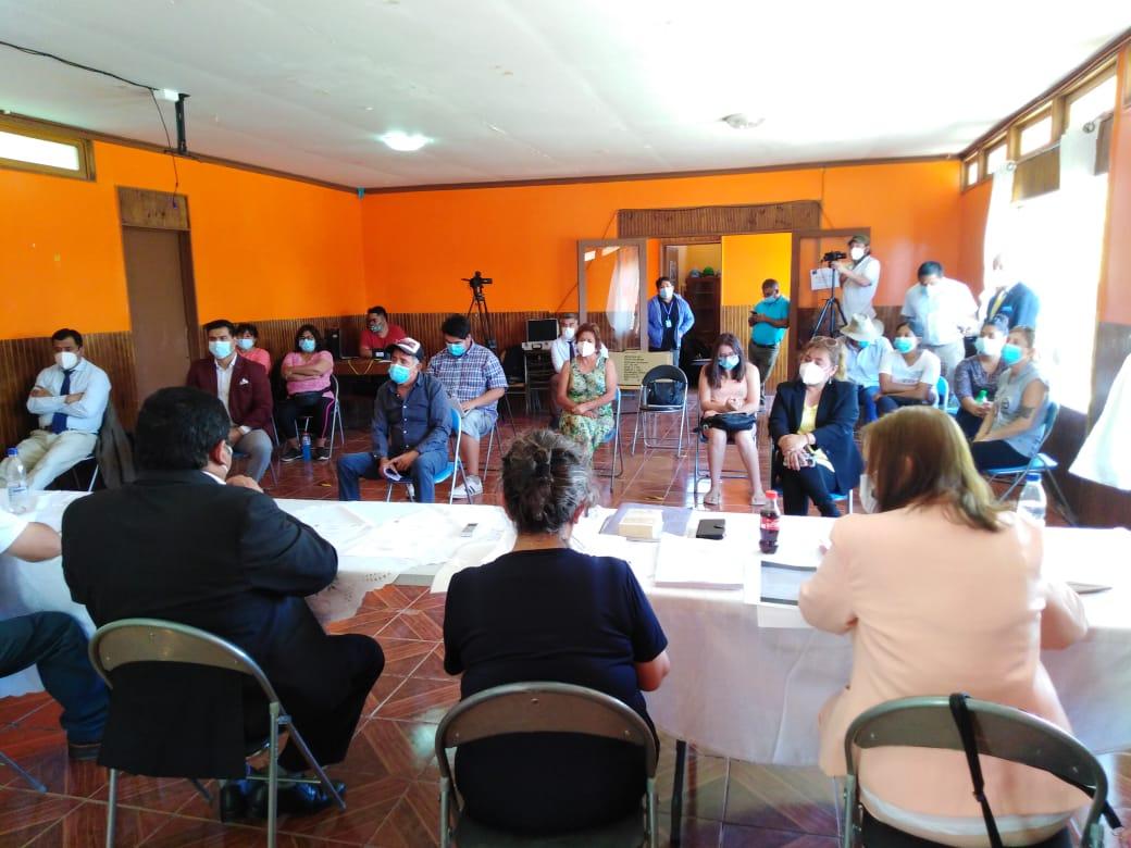Tras 16 años y 2 administraciones municipales concejo sesionó en sector rural