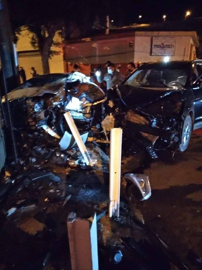 Un fallecido y tres lesionados deja accidente en Quinta Valle