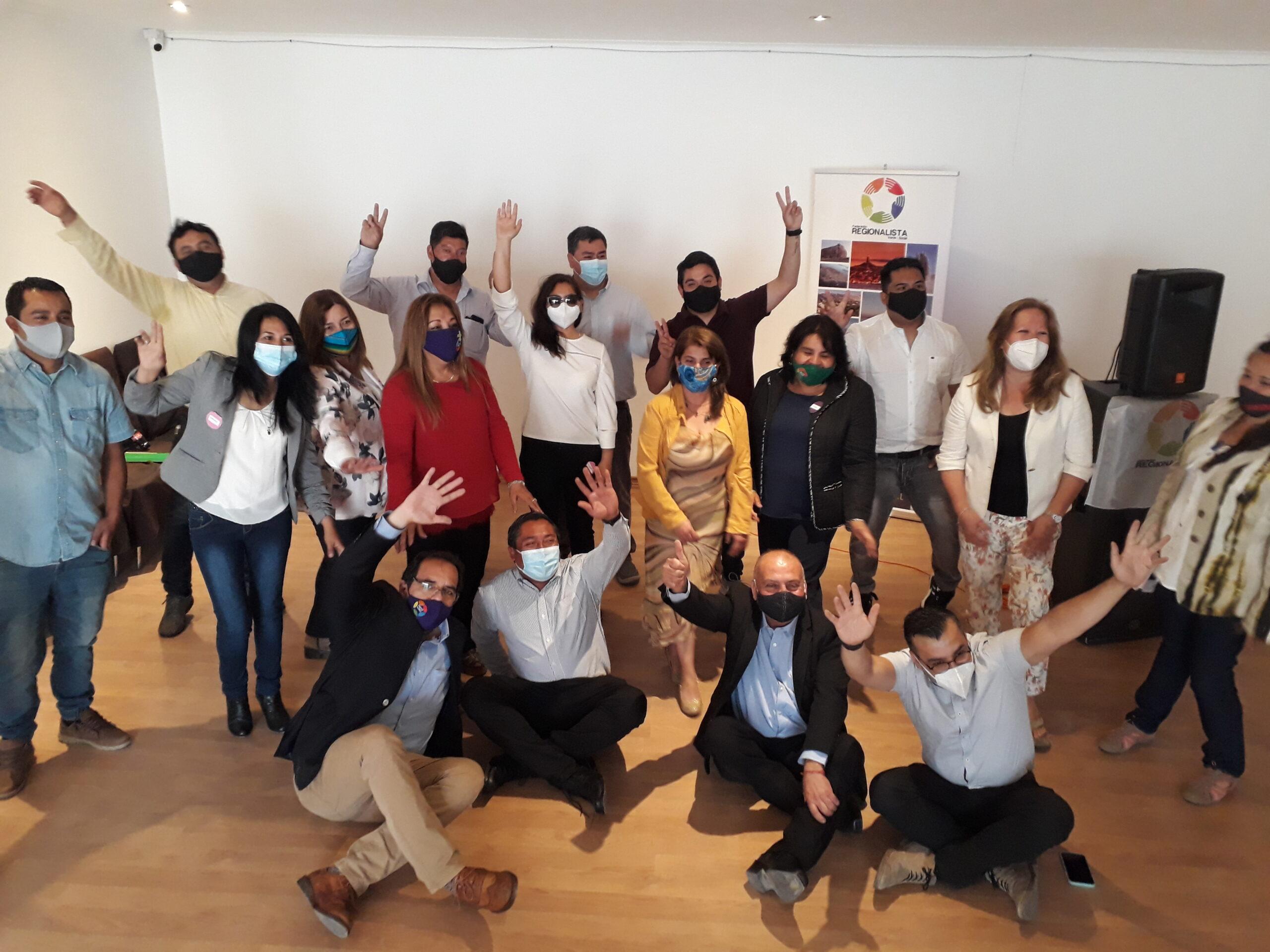 FREVS presentó candidatos a concejal, alcalde y a gobernador regional para Atacama