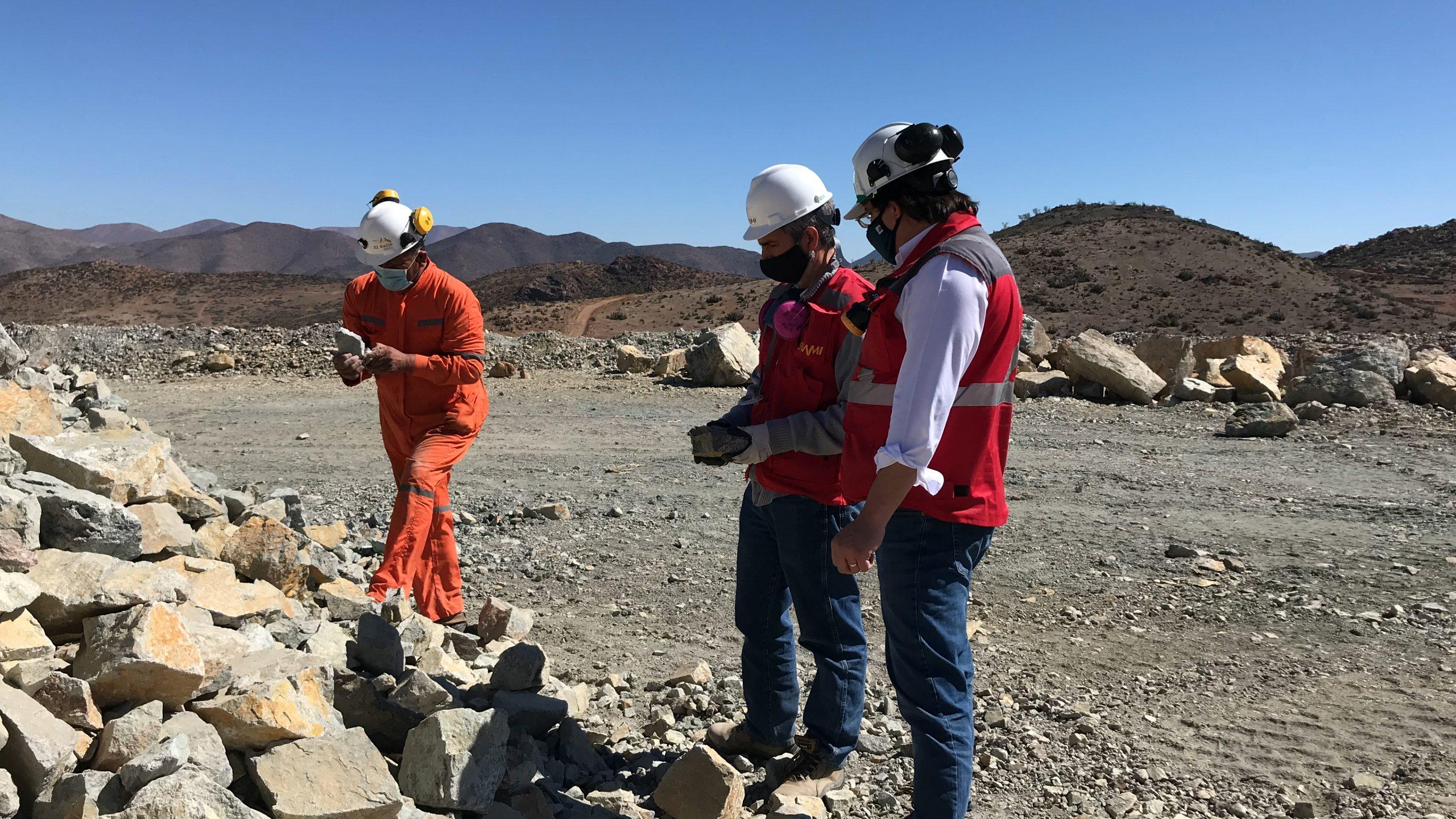 ENAMI y mineros del Huasco operarán inédito escáner que realiza capturas topográficas al instante