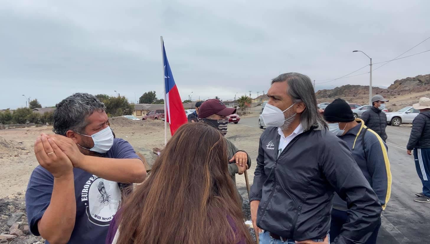 """Alcalde de Huasco y movilización de Axinntus: """"No están los tiempos para frenar la economía y Huasco necesita fair play de parte de todos"""""""