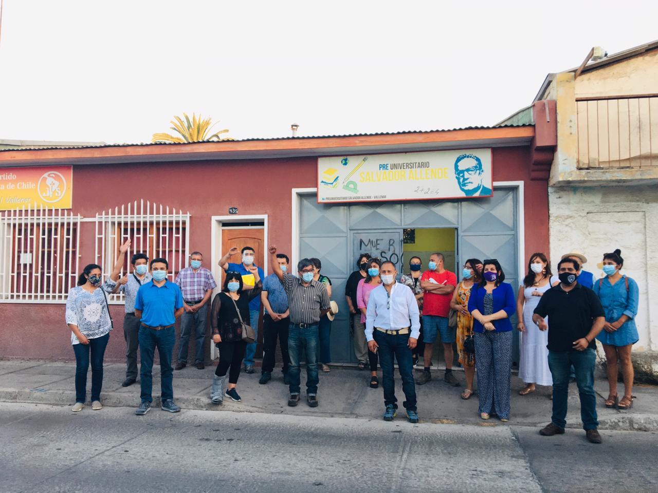 Flores invitó a las demás fuerzas progresistas a sumarse a su candidatura